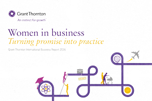 Women in Business Report cover image