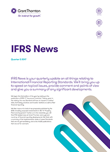 IFRS news Q3 2017