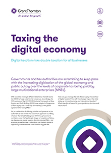 Taxing the digital economy cover image
