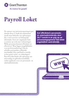 Payroll Loket flyer