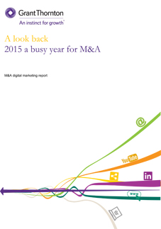 M&A digital marketing report