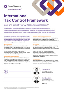 Flyer International Tax Control Framework