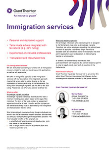 Factsheet Immigration Services - Grant Thornton