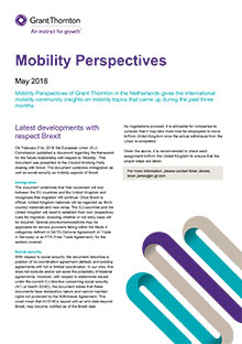 Mobility perspectives 2018 May - Grant Thornton Netherlands