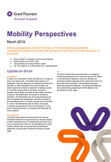 Mobility perspectives March 2019