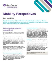 Mobility perspectives 2018 February #1 - Grant Thornton Netherlands